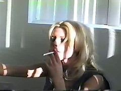 Blonde, Smoking, Masturbation