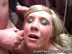Amateur, British, Facial