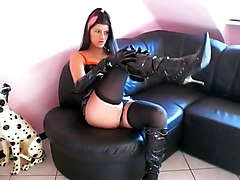 Boots, Latex, Dress