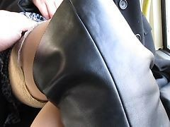 Bus, Flashing, Stockings