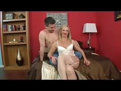 Anal, Granny, Stockings