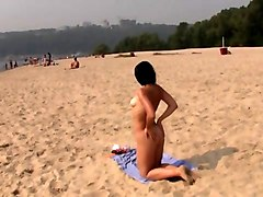 Teen, Nudist, Beach