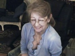 Granny, Glasses, Ass