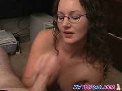 Glasses, Blowjob, Ass