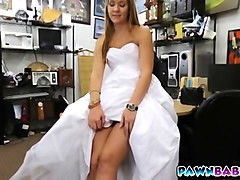 Blonde, Bride, Dress