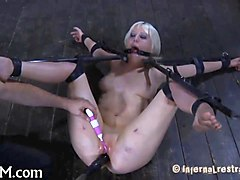 Blonde, Bondage, Gagging