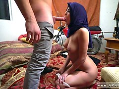 Arab, Hairy, Creampie