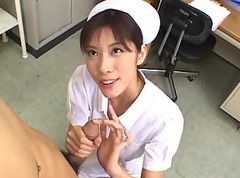 Asian, Small Cock, Nurse