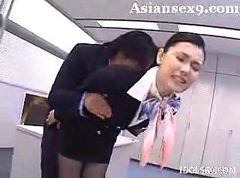 Asian, Stewardess