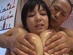Asian, Oil, Creampie