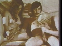 Hairy, Foursome, Vintage