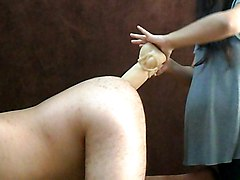 Wife, Strapon, Dildo