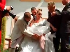 Gangbang, Bride, Wedding